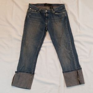 Calvin Klein Jeans Capri Cropped Cuffed